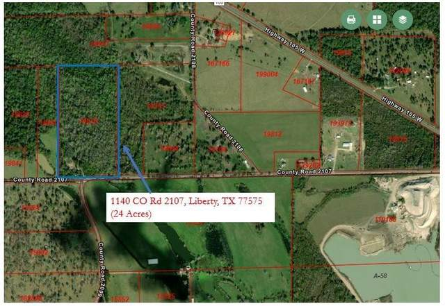 1140 Co Rd 2107, Liberty, TX 77575 (MLS #53381339) :: The SOLD by George Team