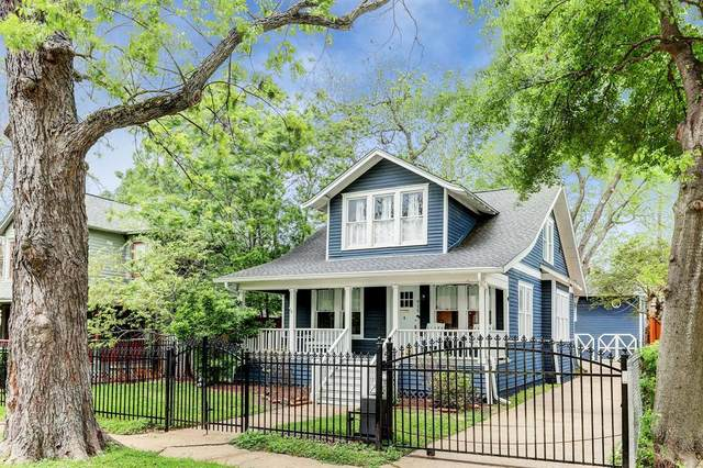 915 Harvard Street, Houston, TX 77008 (MLS #53489306) :: The Home Branch
