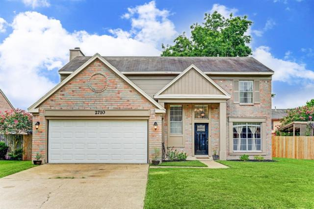 2710 Holly Springs Drive, Pearland, TX 77584 (MLS #53635817) :: The SOLD by George Team