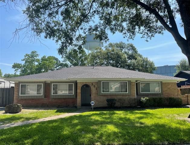 351 Queenstown Road, Houston, TX 77015 (MLS #53817644) :: The Freund Group