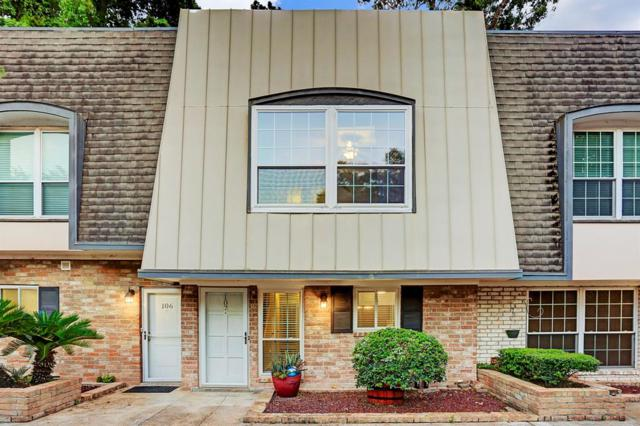 1801 Stoney Brook Drive #107, Houston, TX 77063 (MLS #53865257) :: Grayson-Patton Team