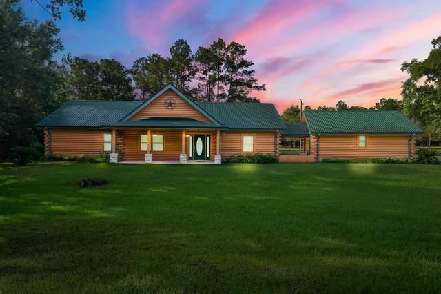 44 Forest Creek Drive, Huntsville, TX 77320 (MLS #53920790) :: The Home Branch