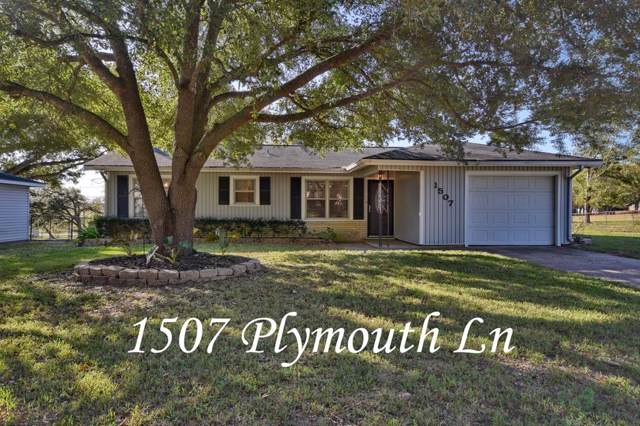 1507 Plymouth Lane, Brenham, TX 77833 (MLS #53936878) :: Texas Home Shop Realty