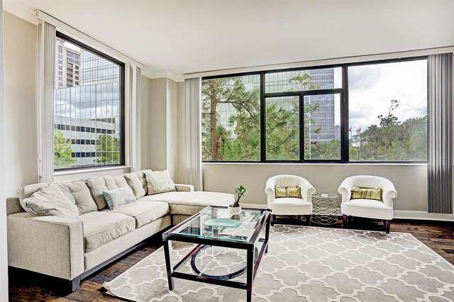 4950 Woodway Drive #410, Houston, TX 77056 (MLS #54187781) :: The Sansone Group