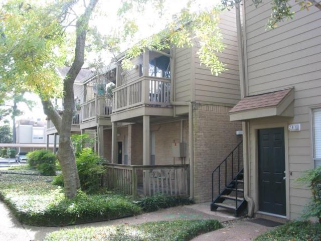 2100 Tanglewilde Street #280, Houston, TX 77063 (MLS #54410615) :: Giorgi Real Estate Group