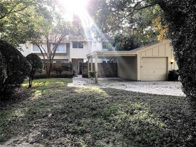 2226 W Settlers Way, The Woodlands, TX 77380 (MLS #54670260) :: The Heyl Group at Keller Williams