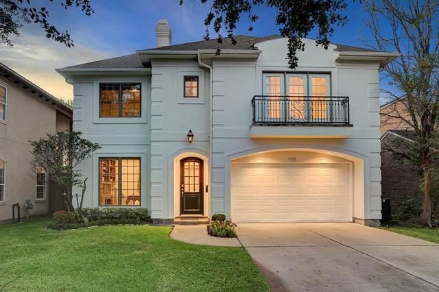 4918 Cedar Street, Bellaire, TX 77401 (MLS #54686453) :: Caskey Realty