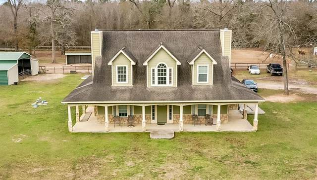 120 County Road 3373A, Cleveland, TX 77327 (MLS #54761804) :: NewHomePrograms.com