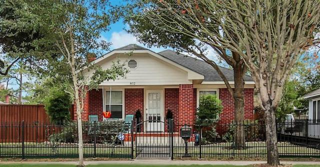 802 Pecore Street, Houston, TX 77009 (MLS #54766677) :: Giorgi Real Estate Group