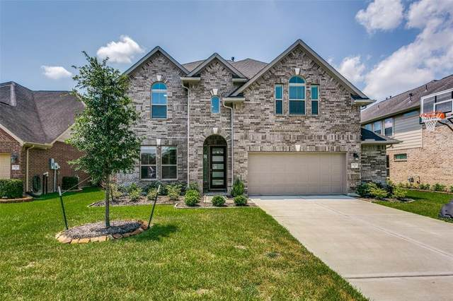 7606 Quiet Trace Lane, Pearland, TX 77581 (MLS #55090738) :: The Bly Team