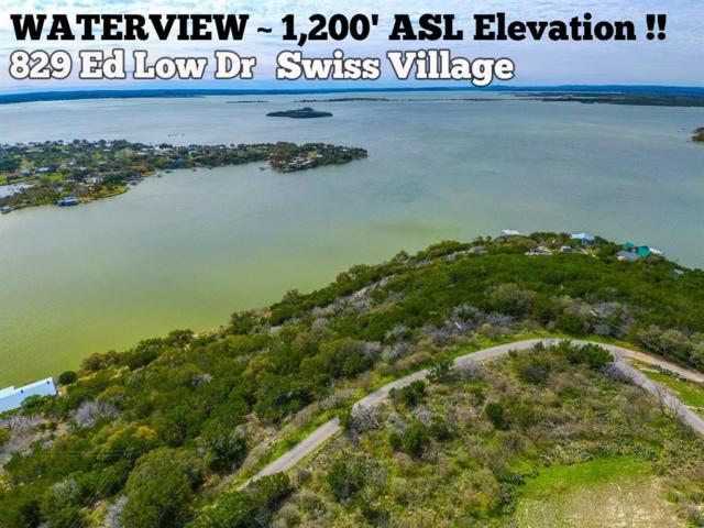 628 Ed Low Drive, Burnet, TX 78611 (MLS #55137795) :: The SOLD by George Team