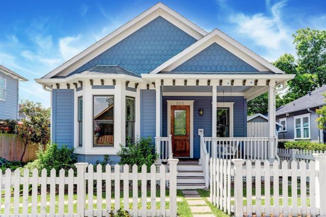 505 Archer Street, Houston, TX 77009 (MLS #55570954) :: Fairwater Westmont Real Estate