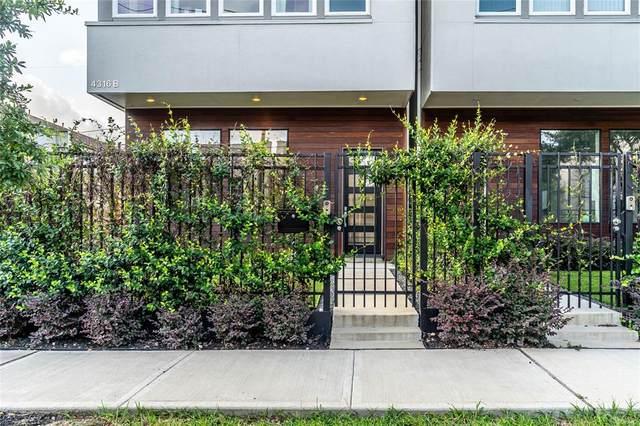 4316 Feagan Street B, Houston, TX 77007 (MLS #55638885) :: Giorgi Real Estate Group
