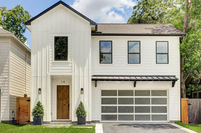 115 Munford Street, Houston, TX 77008 (MLS #55709911) :: The SOLD by George Team