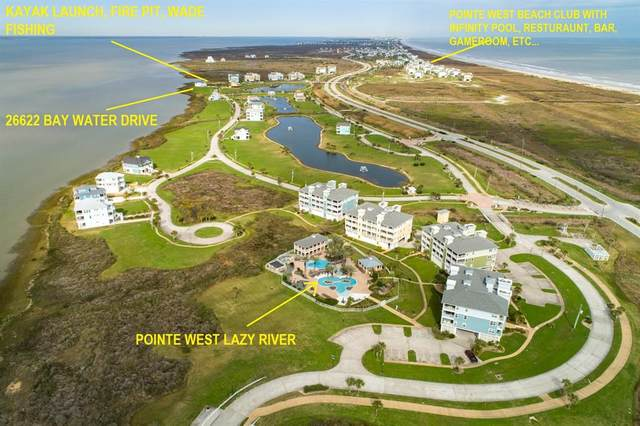 26622 Bay Water Drive, Galveston, TX 77554 (MLS #55734494) :: The Parodi Team at Realty Associates