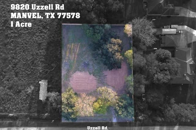 9820 Uzzell Road, Manvel, TX 77578 (MLS #55913079) :: Caskey Realty