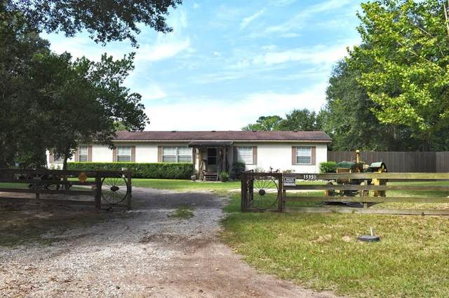 15350 Old Humble Pipeline Road, Conroe, TX 77302 (MLS #56098447) :: The SOLD by George Team