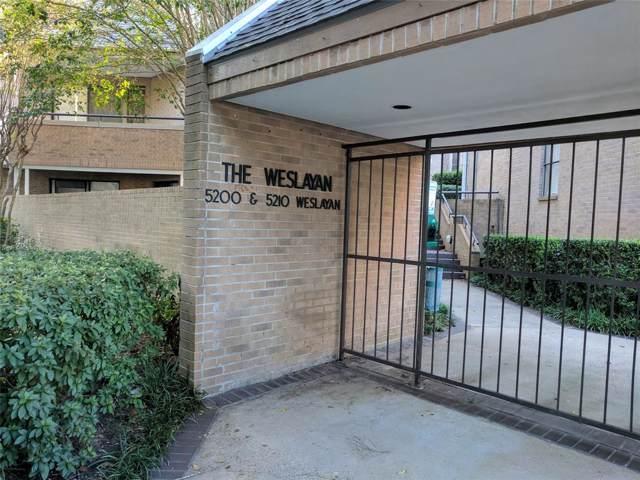 5210 Weslayan Street #204, Houston, TX 77005 (MLS #56153118) :: The SOLD by George Team