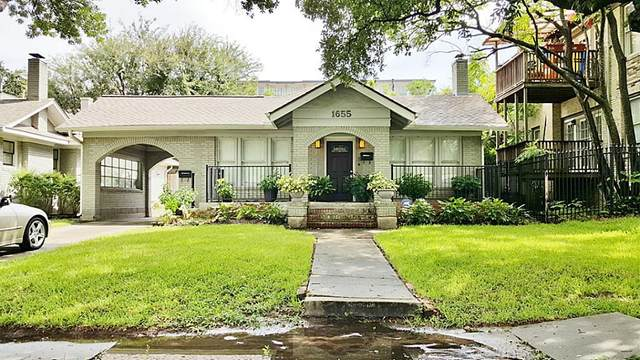 1655 Marshall Street, Houston, TX 77006 (MLS #56308983) :: The Bly Team