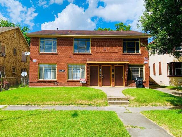 2811 Rosedale Street #4, Houston, TX 77004 (MLS #56330795) :: The Jennifer Wauhob Team