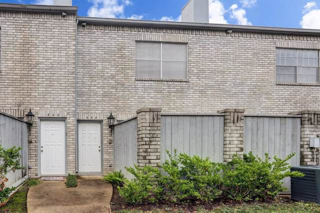 442 Wilcrest #442, Houston, TX 77042 (MLS #56639782) :: Ellison Real Estate Team