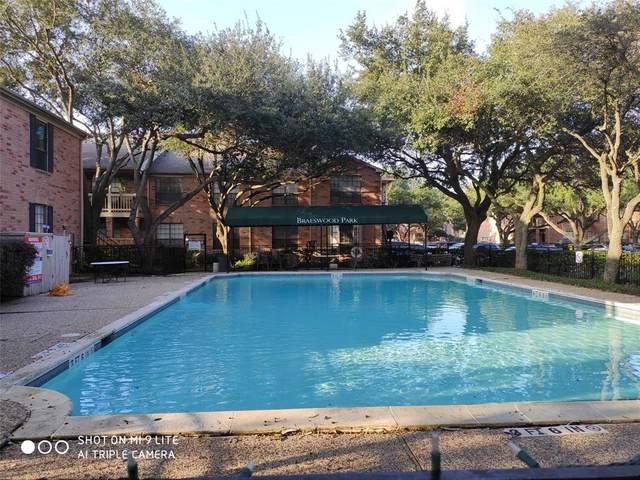 2255 Braeswood Park Drive #261, Houston, TX 77030 (MLS #56689082) :: The Bly Team