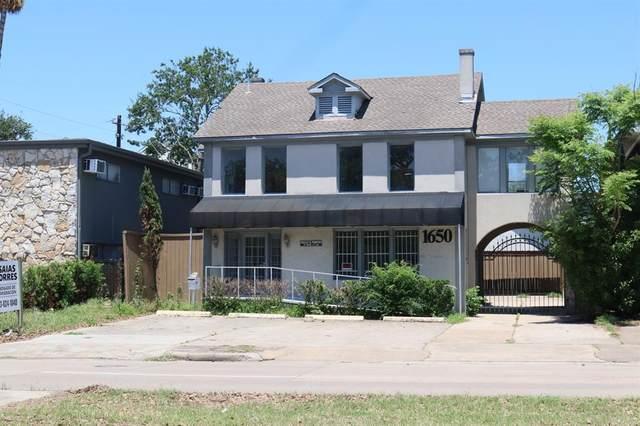 1650 Richmond Avenue, Houston, TX 77006 (MLS #56691100) :: The Bly Team
