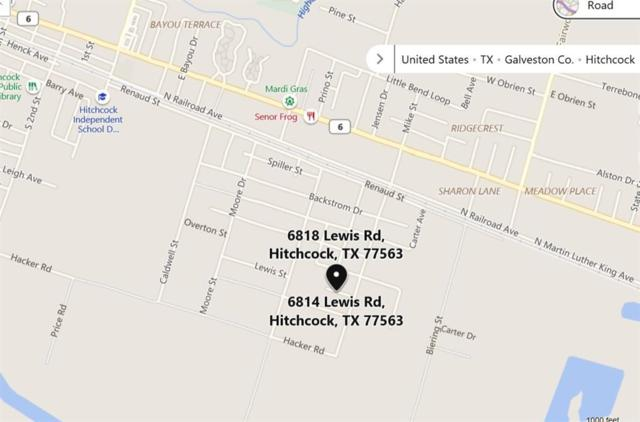 6814 Lewis Rd Street, Hitchcock, TX 77563 (MLS #56845496) :: Texas Home Shop Realty