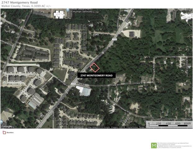 2747 Montgomery Road, Huntsville, TX 77340 (MLS #56860549) :: Texas Home Shop Realty
