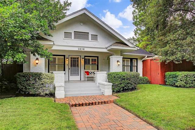 1616 Haver Street, Houston, TX 77006 (MLS #57635165) :: NewHomePrograms.com LLC