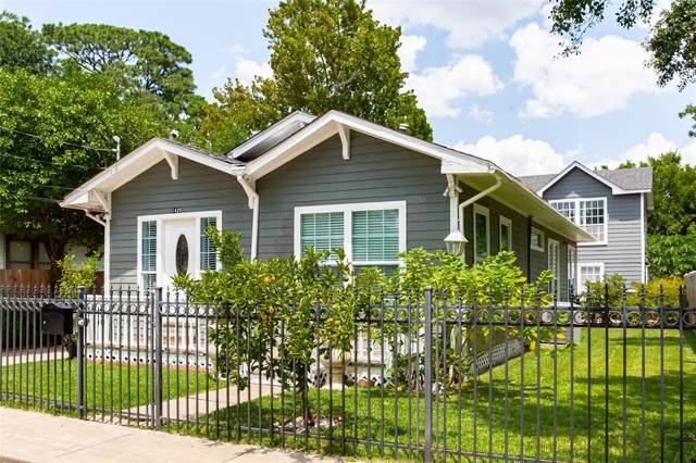 1420 Alexander Street, Houston, TX 77008 (MLS #57885213) :: JL Realty Team at Coldwell Banker, United