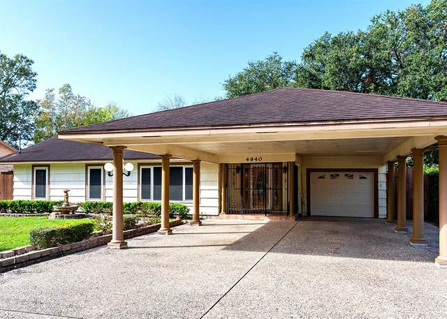 4940 Park Street, Beaumont, TX 77705 (MLS #58176206) :: The Home Branch