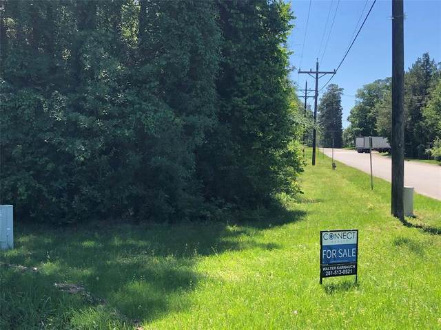 LOT 1 BLOCK 1 S Airport Rd Road S, Conroe, TX 77301 (MLS #58405445) :: The Freund Group