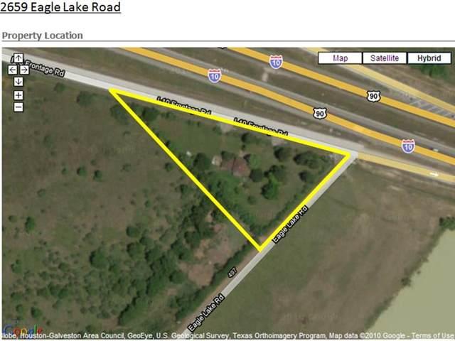 2659 Eagle Lake Rd Freeway, Sealy, TX 77474 (MLS #5852465) :: My BCS Home Real Estate Group