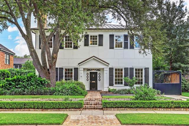2443 Pelham Drive, Houston, TX 77019 (MLS #58549921) :: Giorgi Real Estate Group