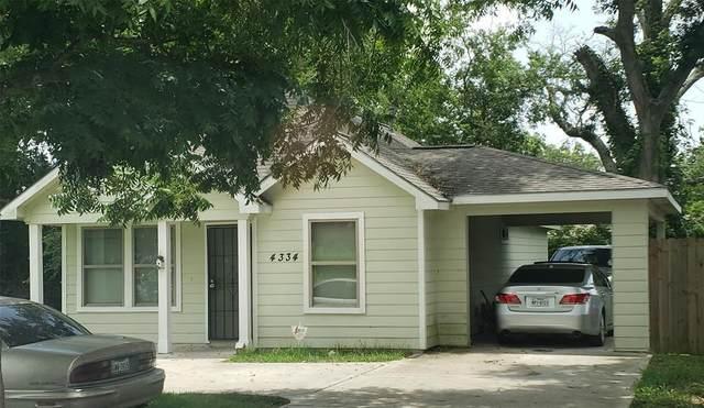 4334 Larkspur Street, Houston, TX 77051 (MLS #58629896) :: My BCS Home Real Estate Group