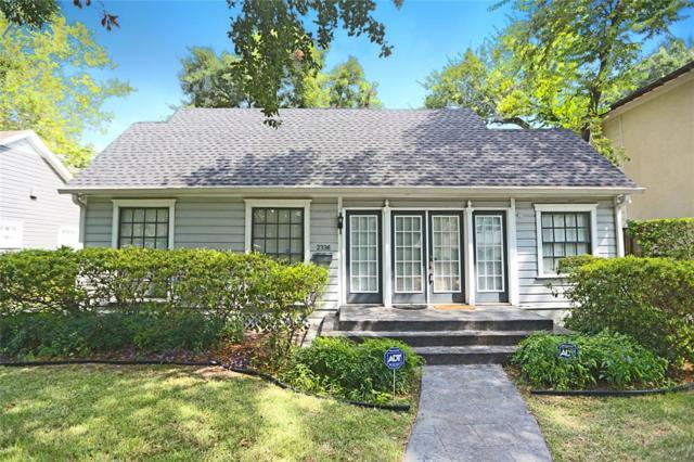 2336 North Boulevard, Houston, TX 77098 (MLS #58634116) :: The Heyl Group at Keller Williams
