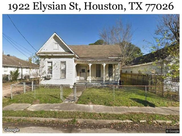 1922 Elysian Street, Houston, TX 77026 (MLS #59160413) :: The Heyl Group at Keller Williams