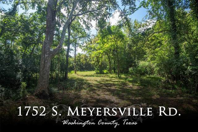 1752 S Meyersville Road, Chappell Hill, TX 77426 (MLS #59447548) :: The Bly Team