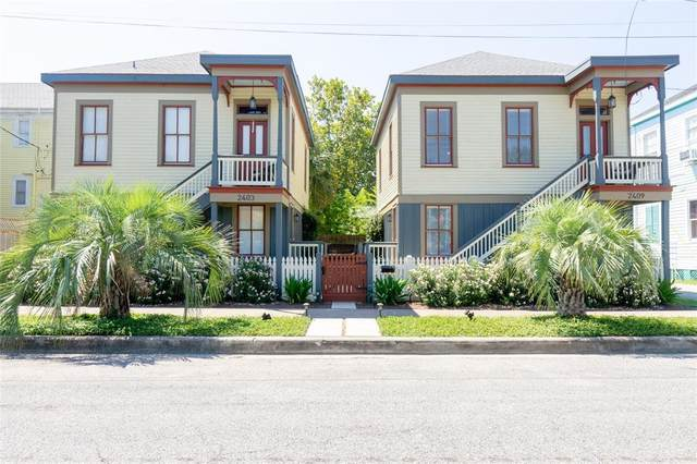 2403 Avenue M, Galveston, TX 77550 (MLS #59496126) :: The Home Branch