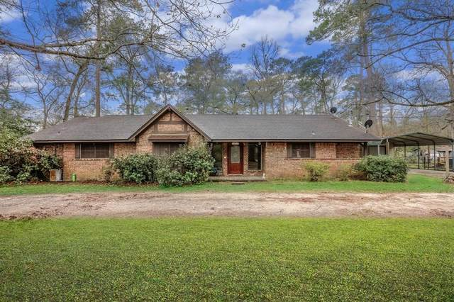 159 Linnwood Drive, Woodbranch, TX 77357 (MLS #59564025) :: The Bly Team