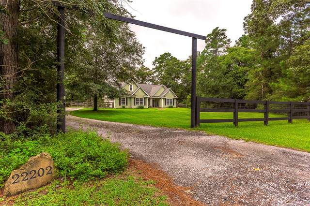 22202 Giant Hickory, Magnolia, TX 77355 (MLS #59708747) :: Lerner Realty Solutions