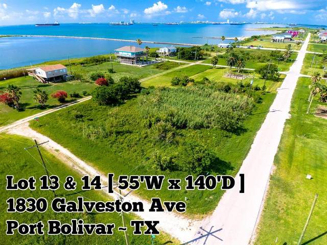 1830 Galveston Avenue, Port Bolivar, TX 77650 (MLS #59717001) :: Texas Home Shop Realty