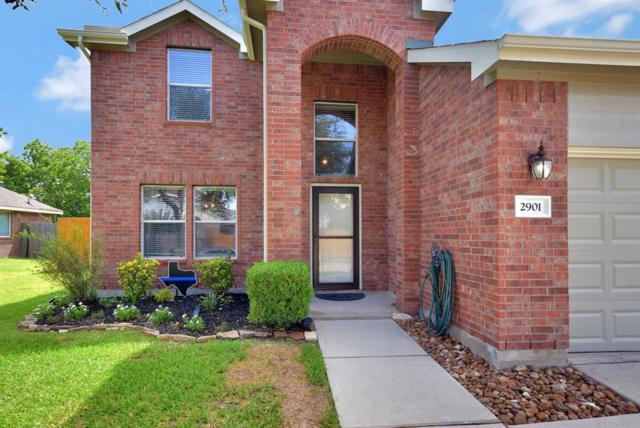 2901 Waterside Trail, Pearland, TX 77584 (MLS #59742024) :: Giorgi Real Estate Group