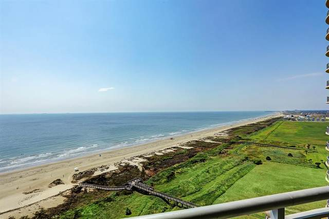 801 E Beach Drive Bc1608, Galveston, TX 77550 (MLS #60043714) :: Caskey Realty