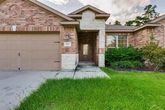 965 Gowan Drive, Conroe, TX 77301 (MLS #60486590) :: Giorgi Real Estate Group