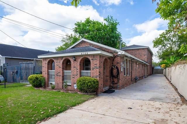 4709 Sharman Street, Houston, TX 77009 (MLS #60497526) :: Caskey Realty