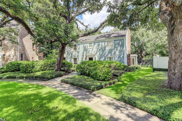 2411 Stanmore Drive, Houston, TX 77019 (MLS #60937581) :: The Heyl Group at Keller Williams