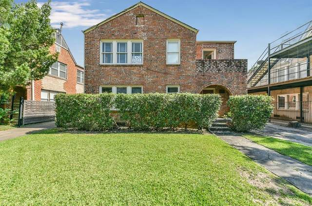 1629 Castle Court, Houston, TX 77006 (MLS #61092472) :: My BCS Home Real Estate Group