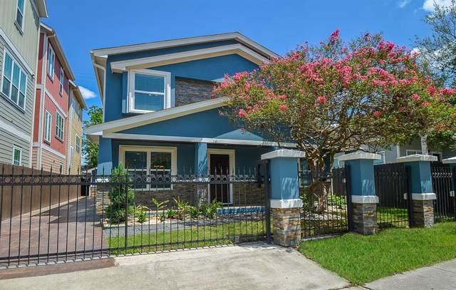 1110 Enid Street, Houston, TX 77009 (MLS #61152330) :: The Property Guys